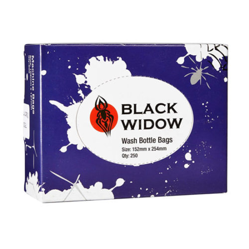 Black Widow - Wash Bottle Bags