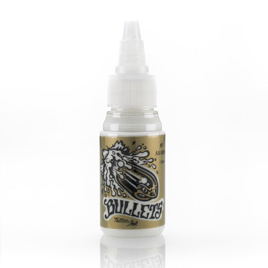 Bullets Ink - All White