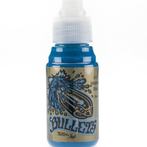 Bullets Ink - Medium Blue