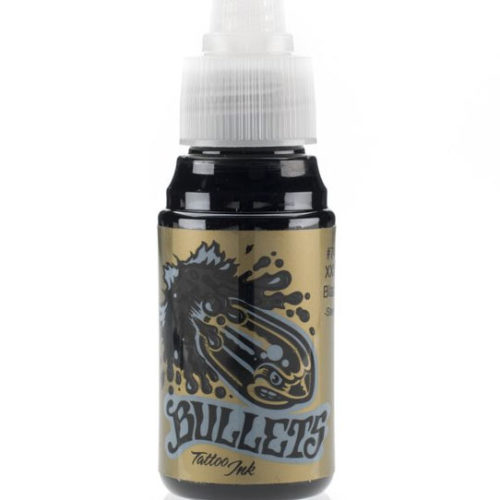 Bullets Ink - XXX Black