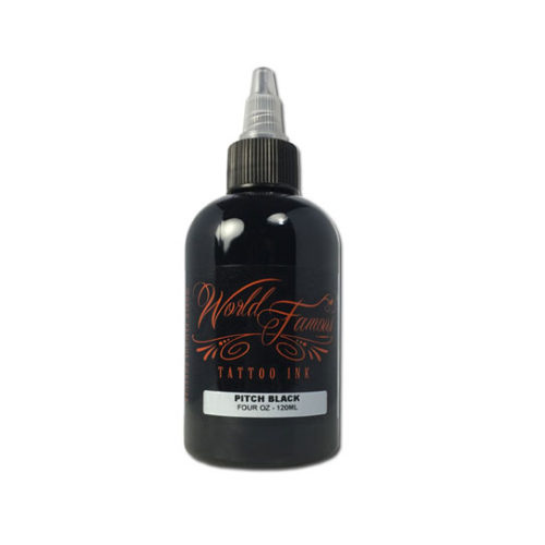 World Famous, Pitch Black 120ml