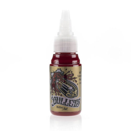Bullets Ink Sangria Red