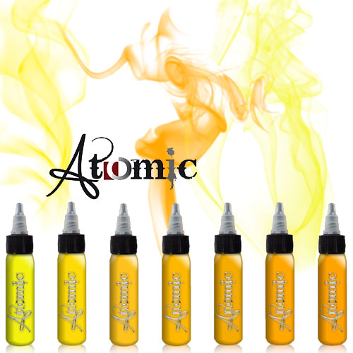 Atomic INK Gelb