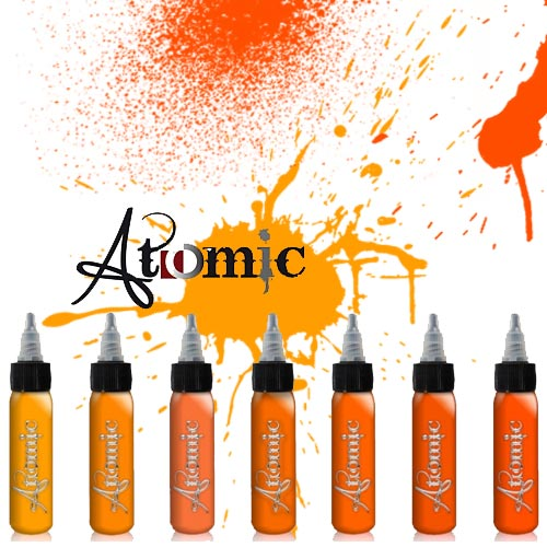 Atomic INK Orange