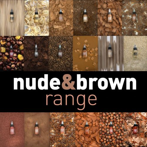 Nude & Brown