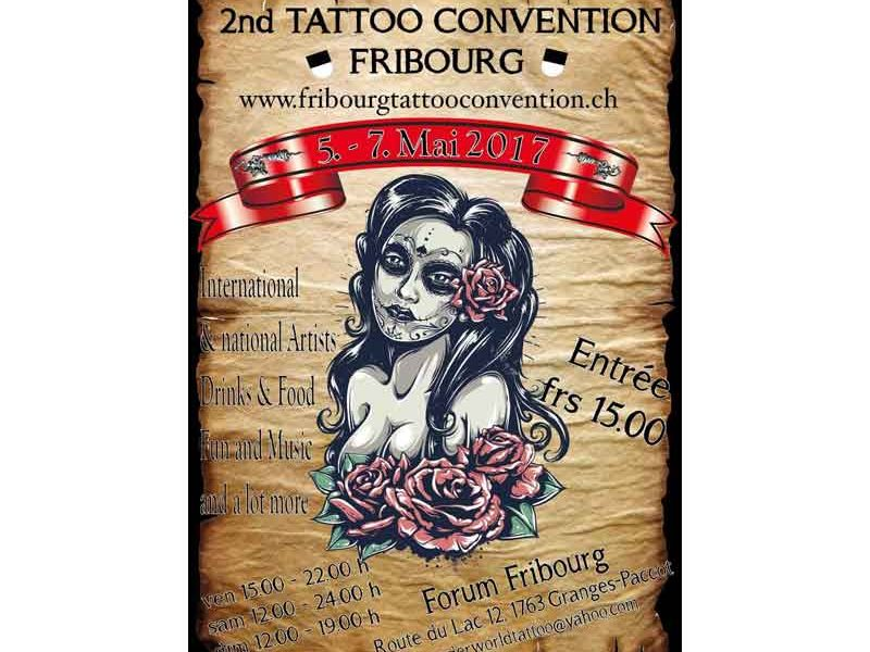 2nd Tattoo Convention Fribourg
