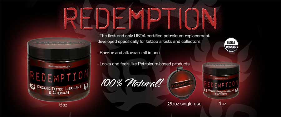 Redemption Lubricant and Aftercare