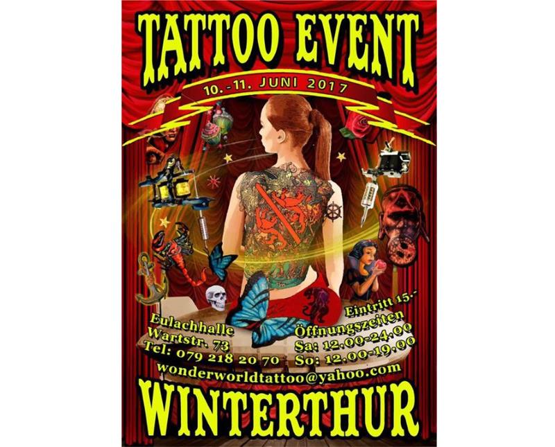 Tattoo Event Winterthur 2016