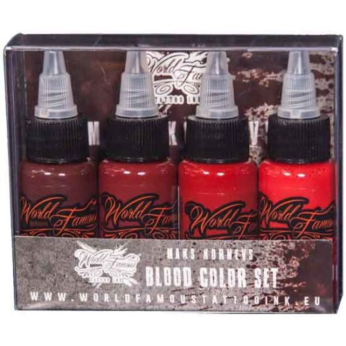 World Famous Maks Kornev's Blood Color set