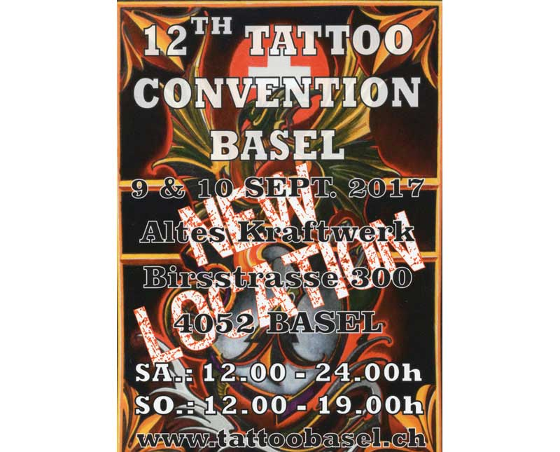 Tattoo Convention Basel 2017