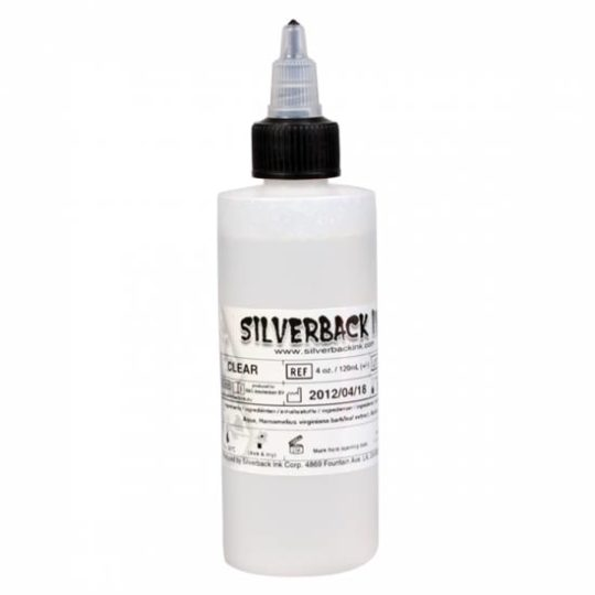 Silverback Tattoo INK - clear solution