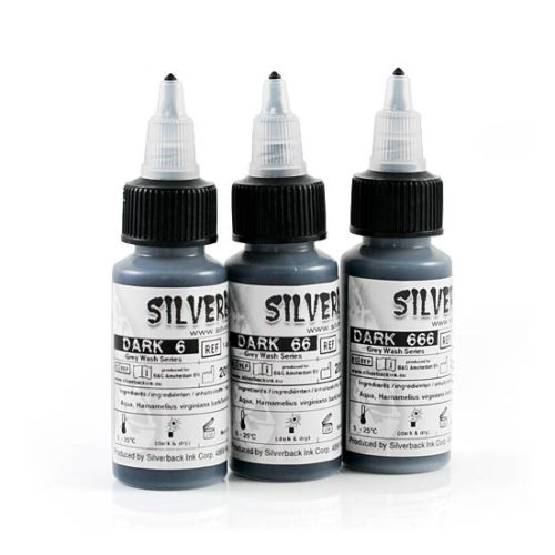 Silverback Tattoo INK - Sets