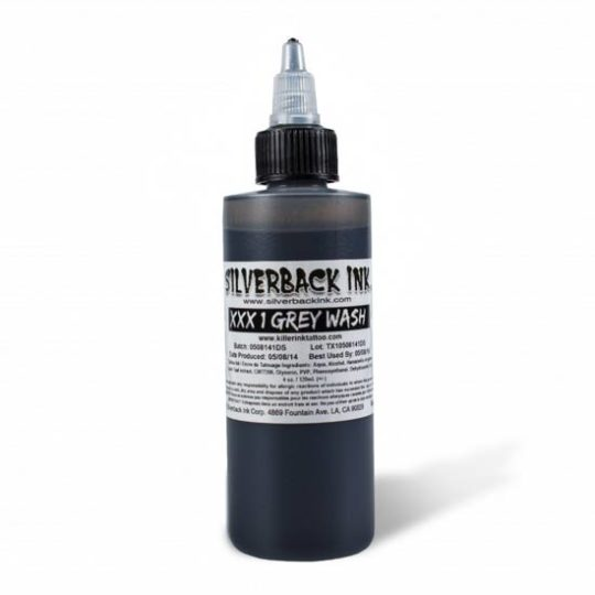 Silverback Tattoo INK - XXX 1 - Grey