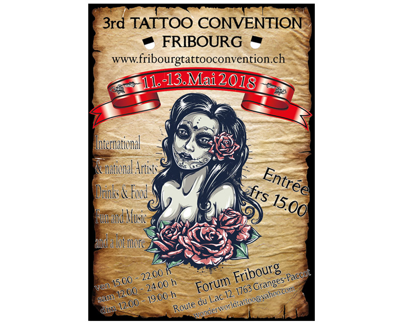 Tattoo Convention Fribroug 2018
