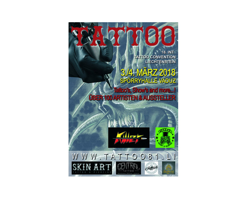Tattoo Convention Vaduz 2018