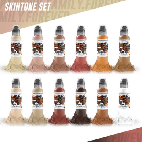 World Famous Skintone set