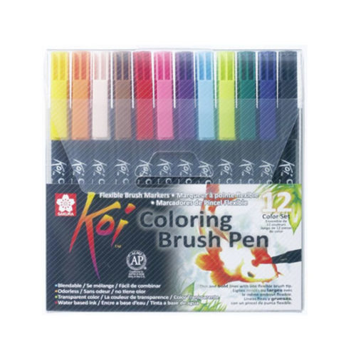 SAKURA KOI COLORING BRUSH PEN SET
