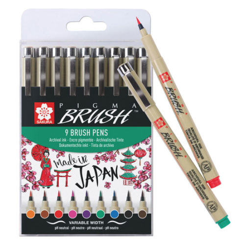 SAKURA PIGMA® Brush Set