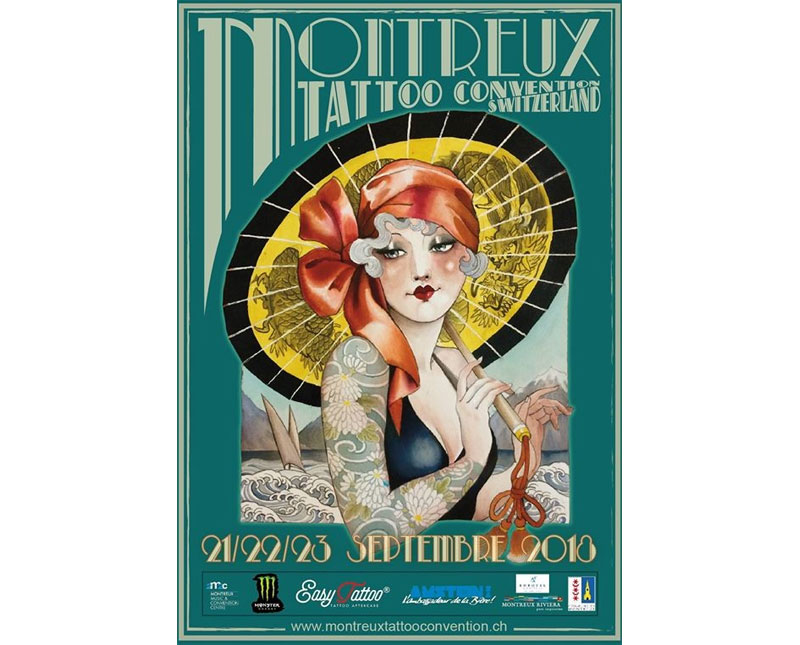 Tattoo Convention Montreux 2018