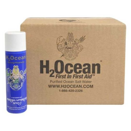 h2ocean Piercing Aftercare